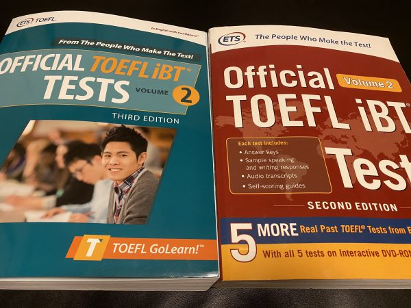 Official TOEFL Tests 3rd and 2nd